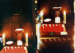Electronic prayer candle factory 1996 Hackney.jpg